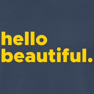 hellobeautiful - Men's Premium T-Shirt