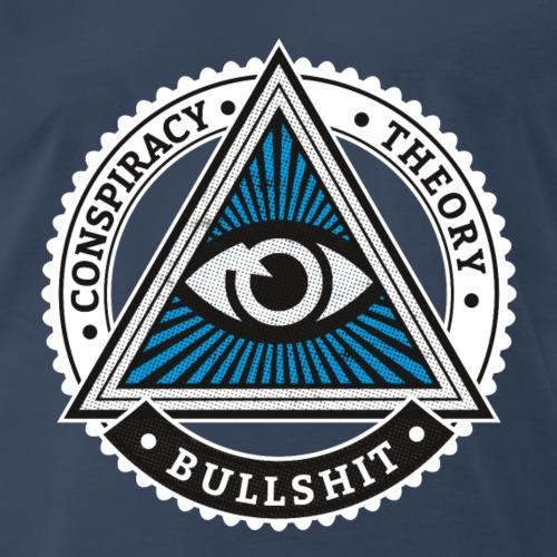 Conspiracy Theory Bullshit - Men's Premium T-Shirt