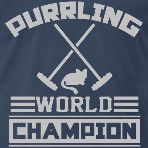 Purrling World Champion - Men's Premium T-Shirt