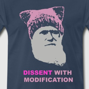 Dissent with modification - dark - Men's Premium T-Shirt