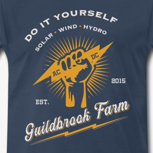 DIY Solar Wind Hydro - Men's Premium T-Shirt