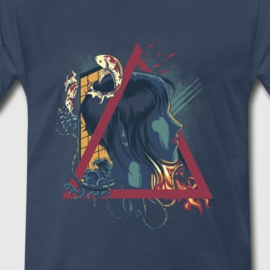 Abstract Ghost - Men's Premium T-Shirt