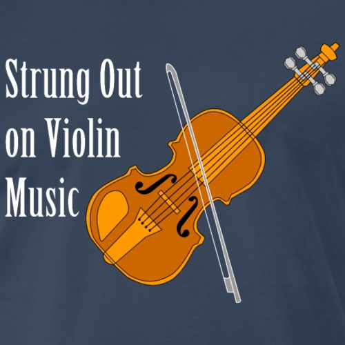 Strung Out On Violin White Text