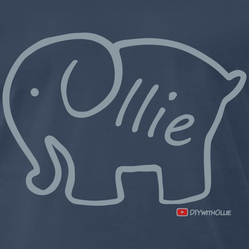 Olliephant Logo - Men's Premium T-Shirt