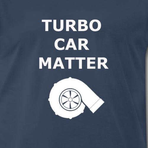 turbo car matter - Men's Premium T-Shirt