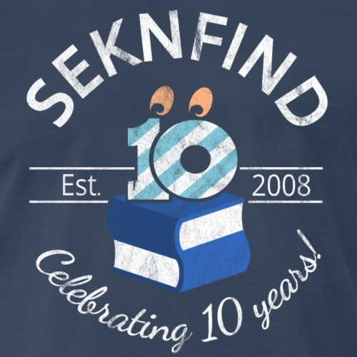 SEKnFind 10th Anniversary - Color - Men's Premium T-Shirt