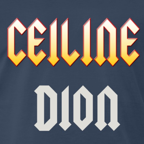 ceiline dion - Men's Premium T-Shirt