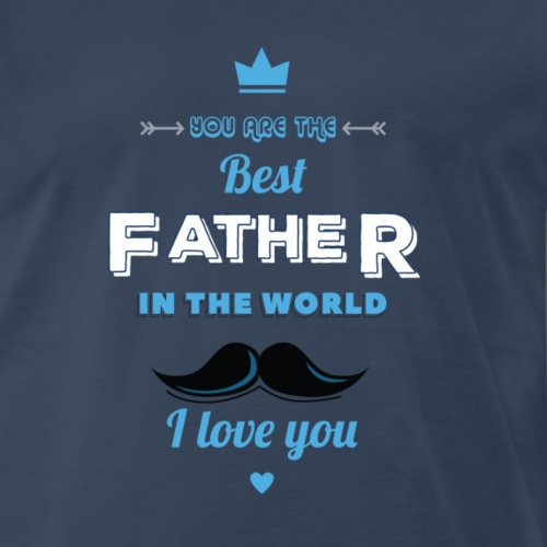 #Father's Day Gift Idea - Men's Premium T-Shirt