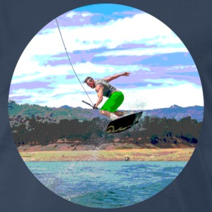 Wakeboard_Isle - Men's Premium T-Shirt