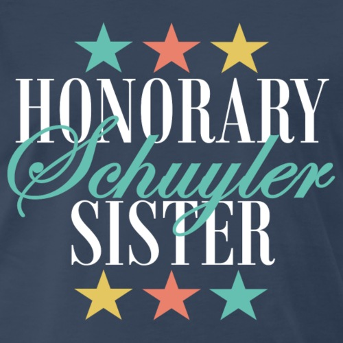 Honorary Schuyler Sister (Eliza) - Men's Premium T-Shirt