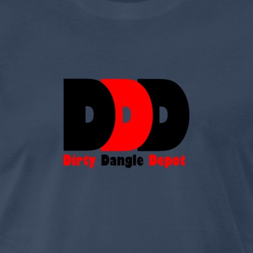 DDD Black/Red/Black - Men's Premium T-Shirt