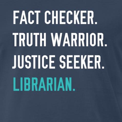 Fact Checker - Men's Premium T-Shirt