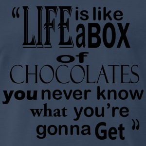 Box of Chocolates - Men's Premium T-Shirt