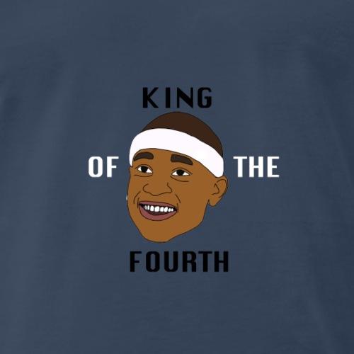 isaiah Thomas King of the Fourth - Men's Premium T-Shirt