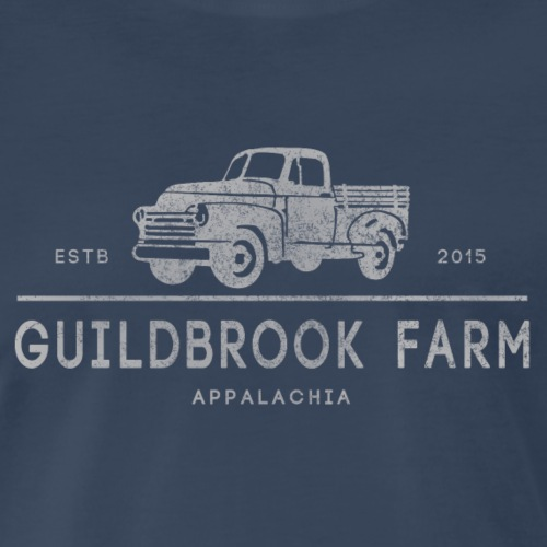 Vintage Farm Truck - Men's Premium T-Shirt