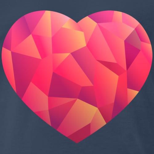Heart - Men's Premium T-Shirt