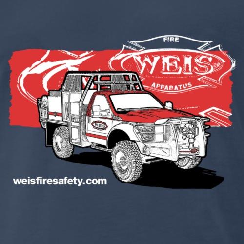Weis Fire Apparatus Tri-Color - Men's Premium T-Shirt