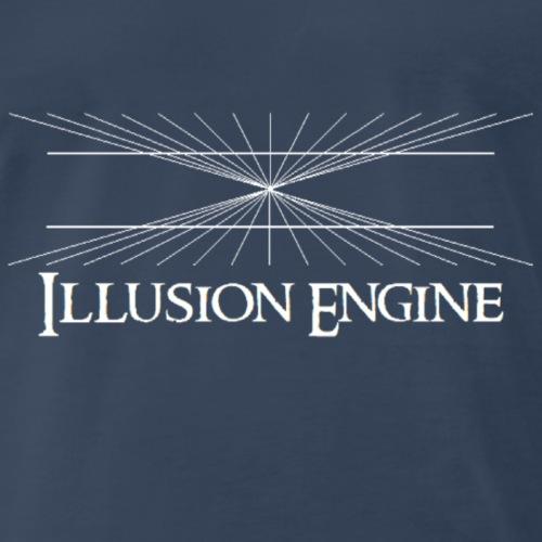 Illusion Engine Logo - Men's Premium T-Shirt