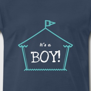 It's A Boy Statement Design Cute Novelty Apparel - Men's Premium T-Shirt