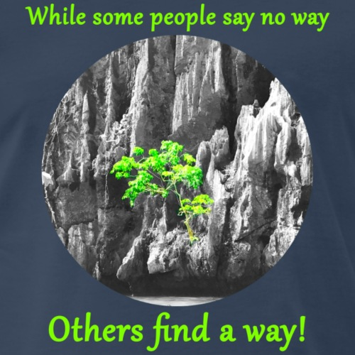 Find a way 2 - Men's Premium T-Shirt