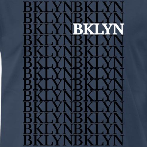 BKLYN Repeat Graphic - Men's Premium T-Shirt