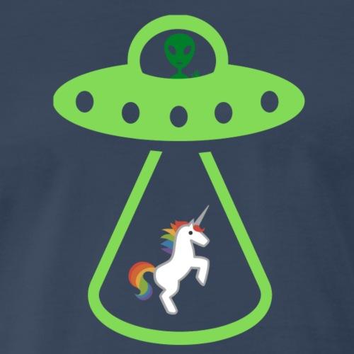Abducted Unicorn - Men's Premium T-Shirt