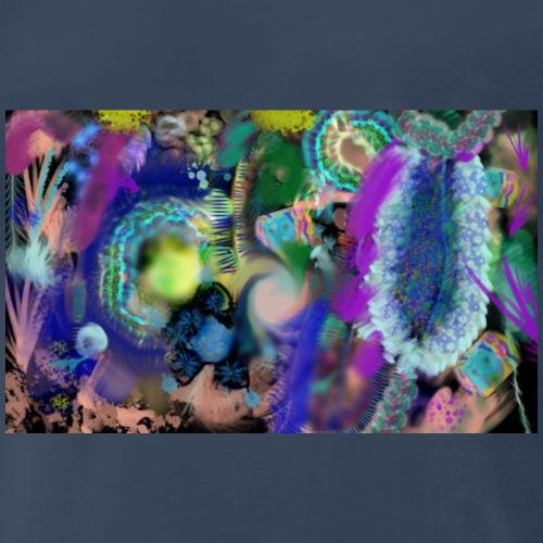Florals 1 by, Mickeys Art And Design - Men's Premium T-Shirt