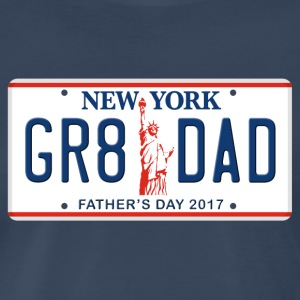 Great Dad - Happy Father's Day - New York - Men's Premium T-Shirt