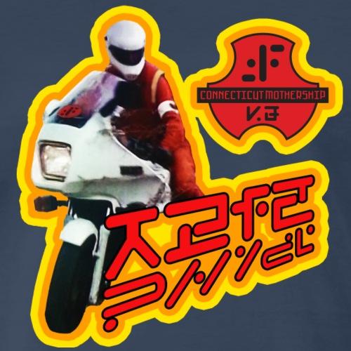 V Motorcycle - Men's Premium T-Shirt