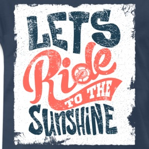 lets-ride-to-the-sunshine - Men's Premium T-Shirt