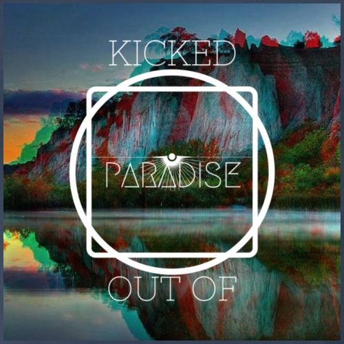Kicked Out Of Paradise - Men's Premium T-Shirt