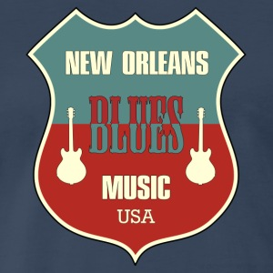 new orleans blues - Men's Premium T-Shirt