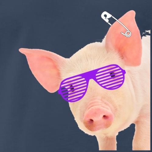 New Wave Pig - Men's Premium T-Shirt