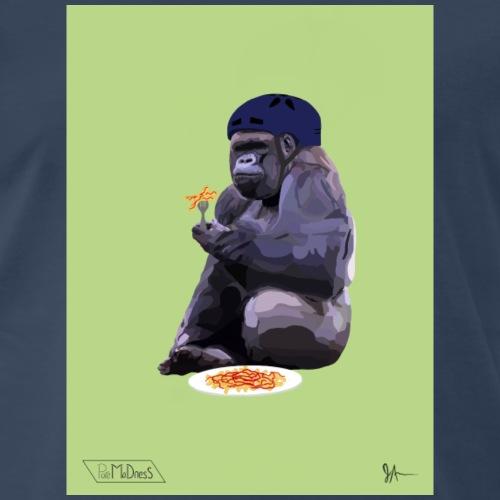 Helmet Gorilla - Men's Premium T-Shirt