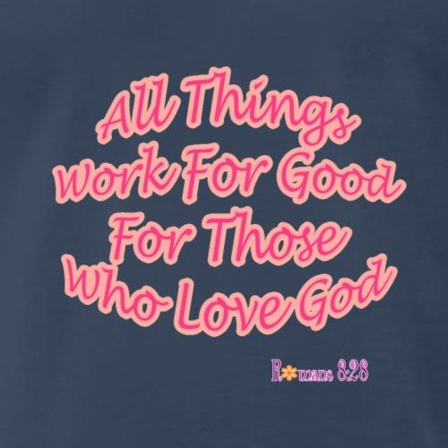 Romans 8:28 - Men's Premium T-Shirt