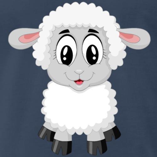 Cute Lamb - Men's Premium T-Shirt