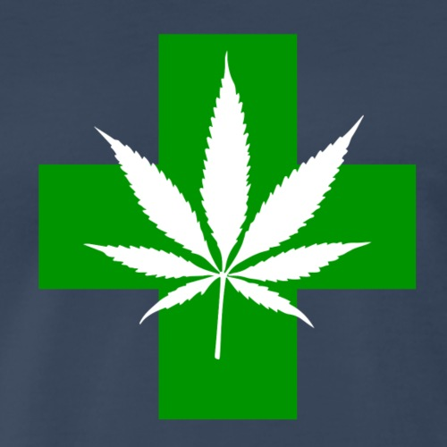 Marijuana Health Facts‎ - Men's Premium T-Shirt