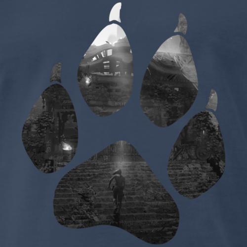 Lara Croft - Gate - Men's Premium T-Shirt