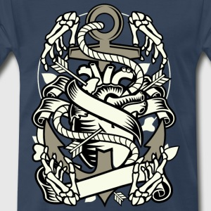 Heart and anchor - Men's Premium T-Shirt