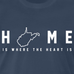 WVU Home - Men's Premium T-Shirt