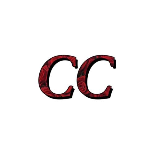 Red Roses Design w/ New Italicized CC Logo - Men's Premium T-Shirt