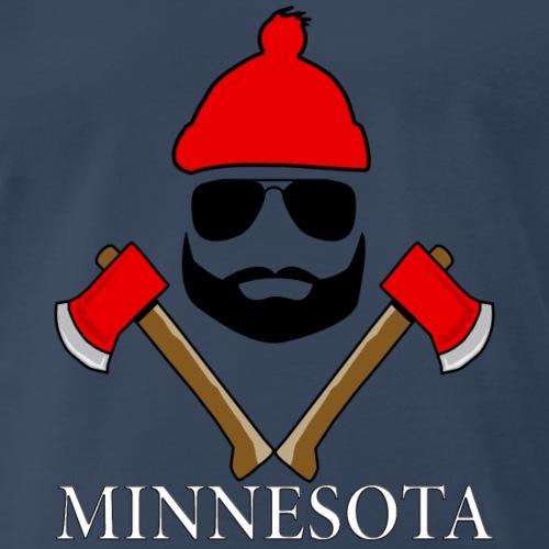 Lumberjack Minnesota - Men's Premium T-Shirt