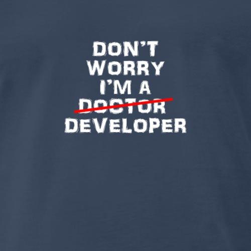 Funny developer design - Men's Premium T-Shirt