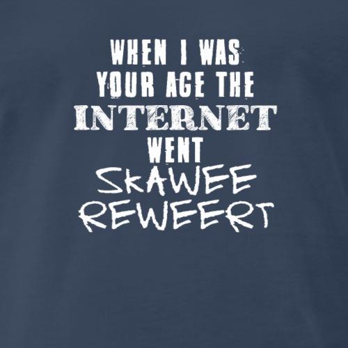 Internet Skawee Reweert Tshirt - Men's Premium T-Shirt