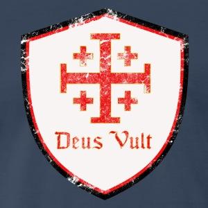 Deus Vult - Men's Premium T-Shirt