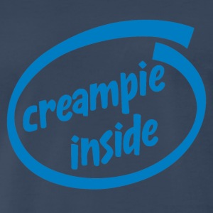 Creampie inside - Men's Premium T-Shirt