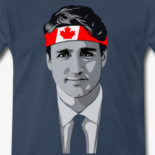 Cocky Trudeau Vintage Tee - Men's Premium T-Shirt
