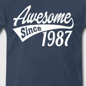 Awesome Since 1987 - Men's Premium T-Shirt