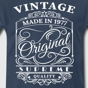 Vintage Made in 1977 Original - Men's Premium T-Shirt