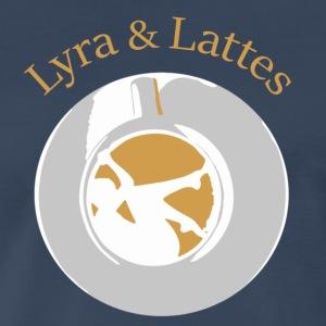 Lyra and Lattes - Men's Premium T-Shirt